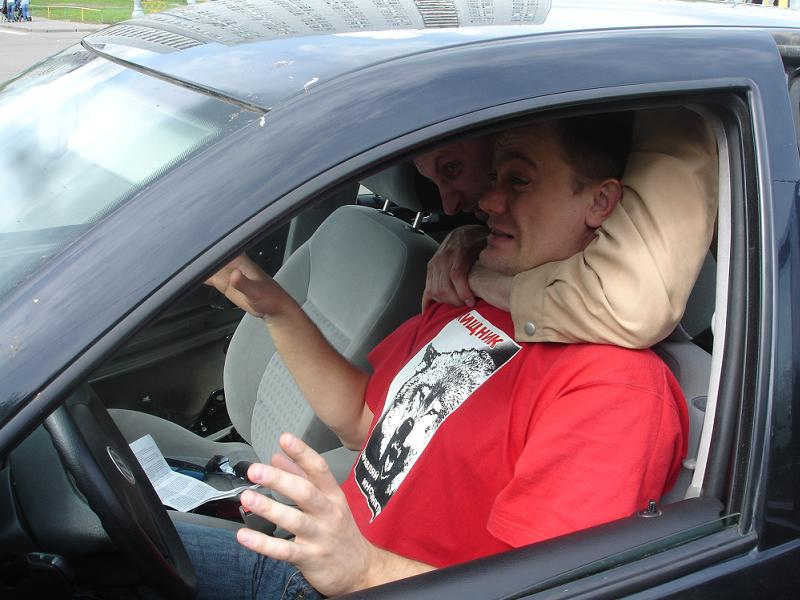 Безопасность водителя такси