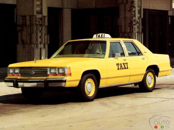 Ford LTD Crown Victoria S Taxi 1989