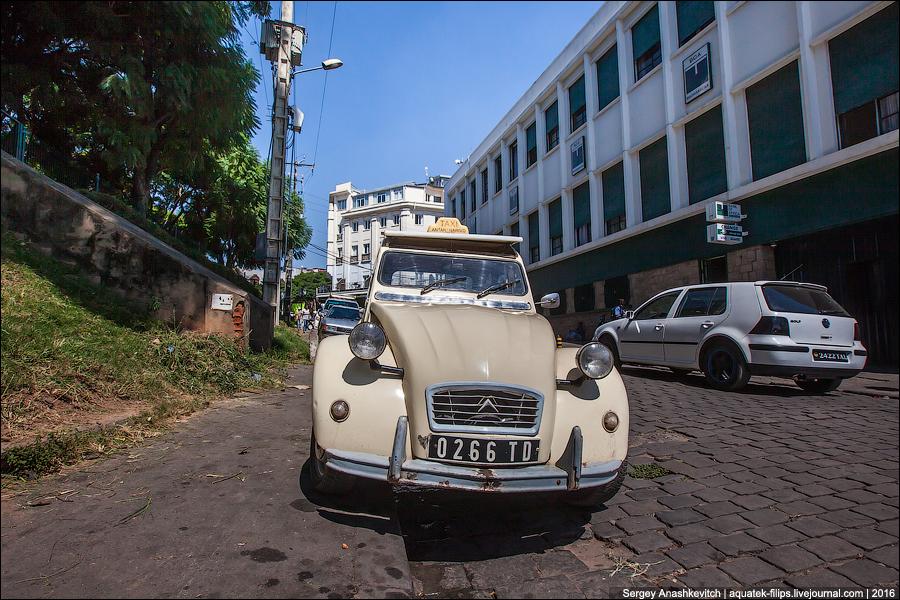 такси на Мадагаскаре