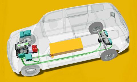 Гибридное такси Metrocab