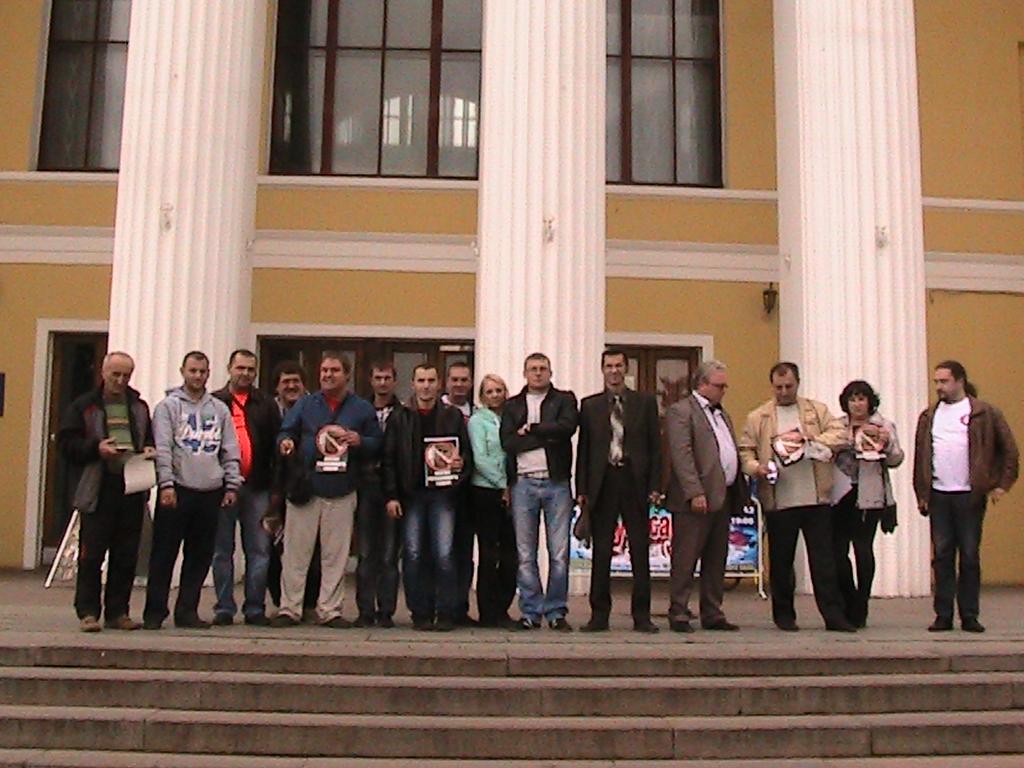 Собрание таксистов в Нижнем Новгороде