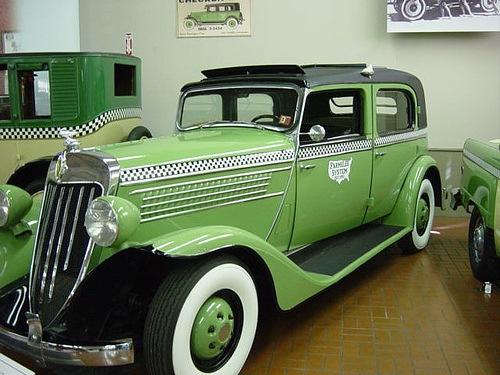 Checker Y8 1935