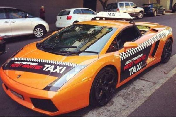 Lamborghini такси