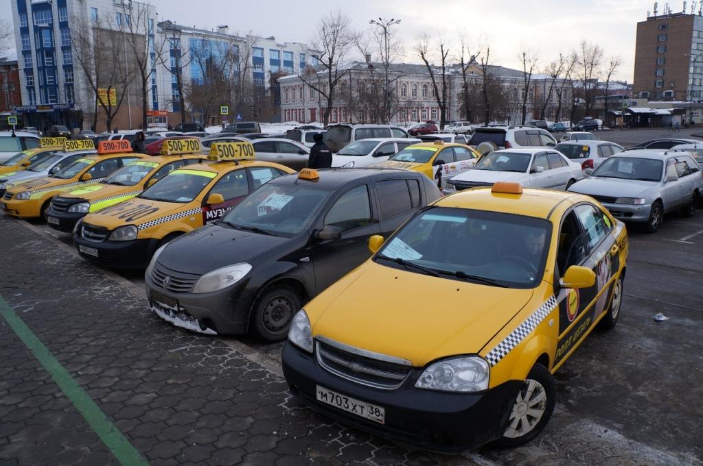 такси Иркутска