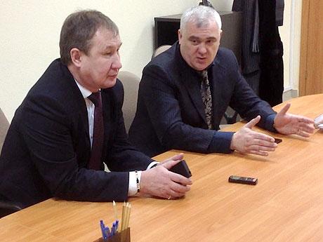 Сергей Степченко и Владимир Кудряшов