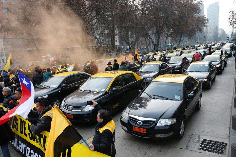 такси в Чили