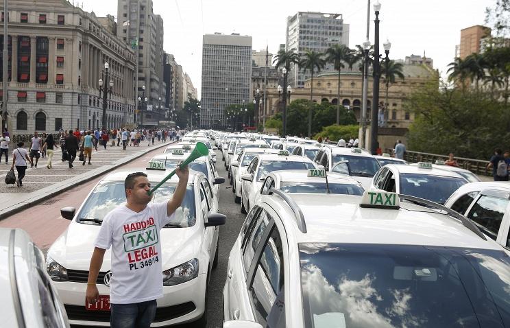 такси Сан-Паулу