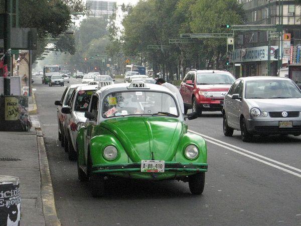 Такси Vochos (Мексика)