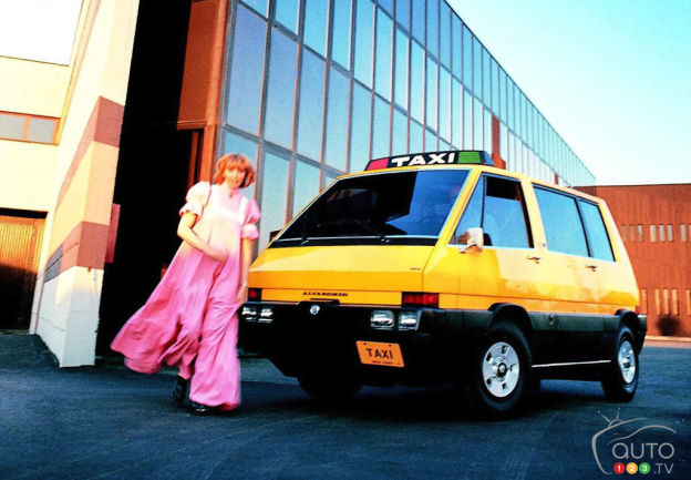 Alfa Romeo New York Taxi 1976