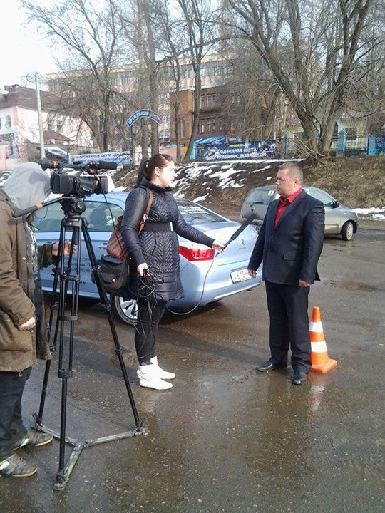 День таксиста в Иваново