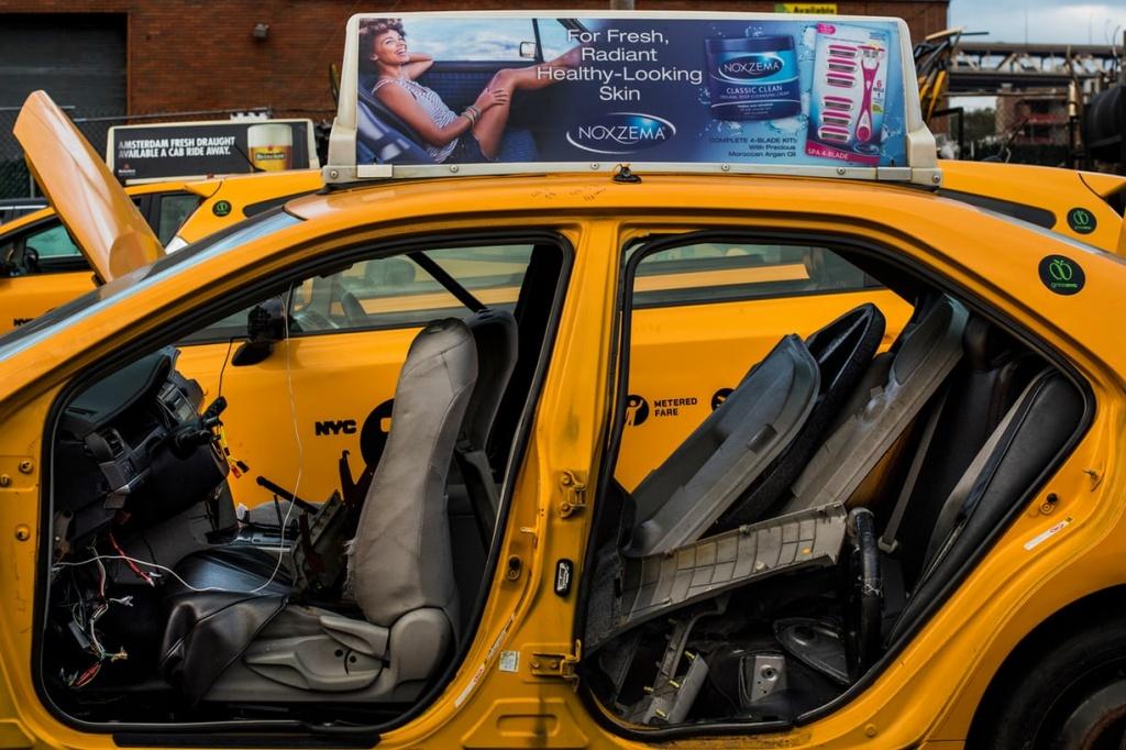 такси в Нью-Йорке