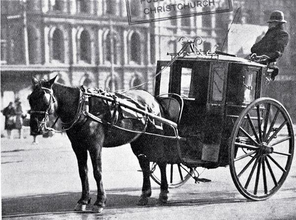 Легендарное британское Hansom-такси