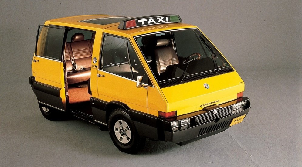 Alfa Romeo New York Taxi (1976)