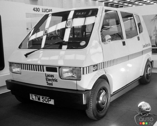 Lucas Electric Taxi 1975