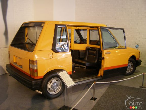 Volvo New York Taxi Concept 1977