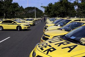 Протестующие против Uber таксисты перекрыли дороги в Рио-де-Жанейро
