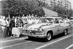 История московского такси