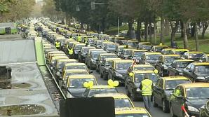 В Чили 15 тысяч таксистов протестуют против Uber