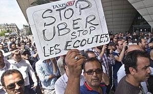 Суд запретил в Брюсселе один из двух сервисов Uber