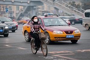 Такси помогают осуществлять мониторинг загрязнения воздуха в Цзинане