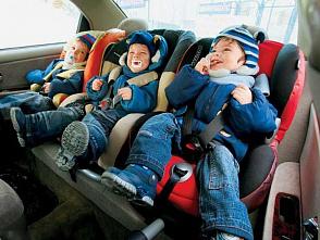 Таксистов стали «сажать» за отсутствие детских кресел