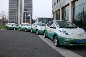 Амстердам создал все условия для развития парка электрических такси