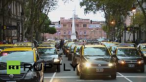 В Аргентине сервис Uber запретили через день после начала работы