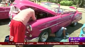 На Кубе появилась мода на такси в разобранном виде