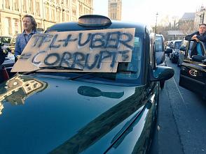 Скандал вызвала информация о коррупционной связи Британского правительства и Uber