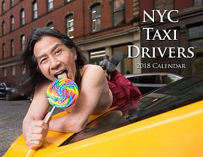 Нью-йоркские таксисты обнажились для календаря 2018 года