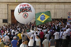 В Сан-Паулу создадут аналог запрещенного сервиса Uber