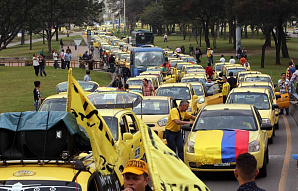 Власти Колумбии запретили Uber